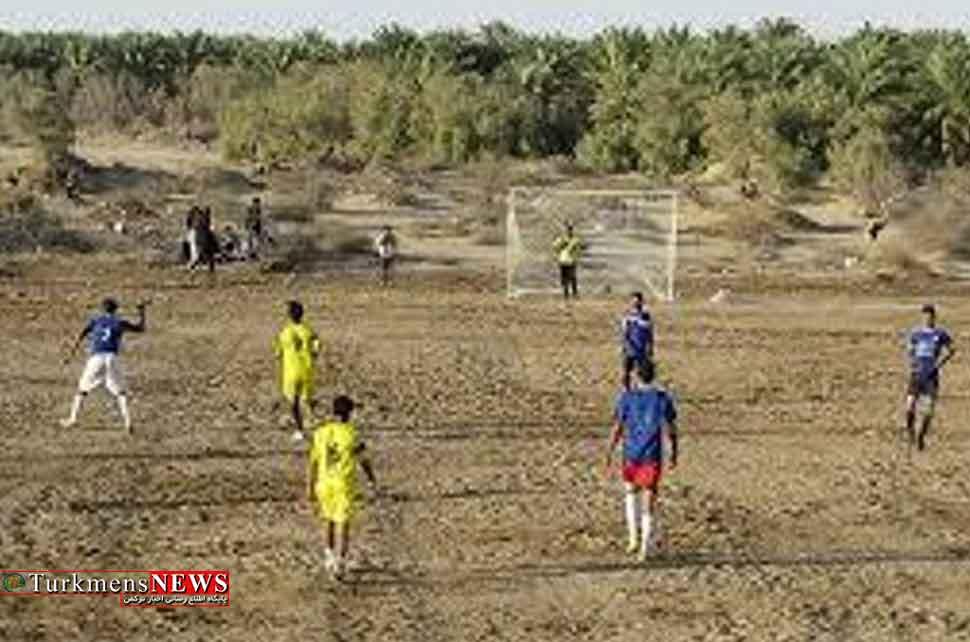 زمین ورزشی در تمامی روستاهای کلاله احداث می شود