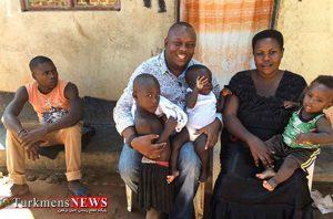 زن 40 ساله با 44 فرزند