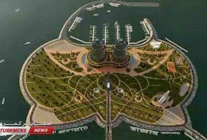 جزیره مصنوعی در دریای خزر 300x203 - ساخت جزیره مصنوعی در دریای خزر