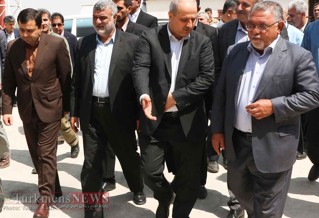وزیر جهاد کشاورزی در استان گلستان