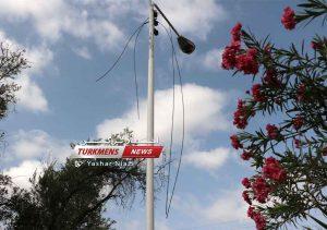 کابل برق ترکمن نیوز 3 300x211 - سرقت کابلهای برق و عدم ارائه راهکار مناسب بزرگترین معضل شهروندان و مسئولین+عکس
