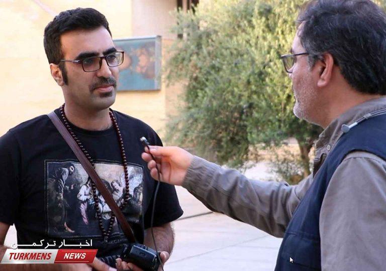 سعید نقیبی مدیر انجمن عکاسان شهرستان گنبدکاووس