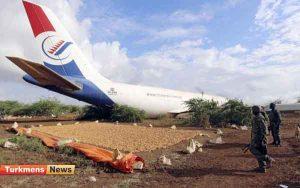 هواپیما سومالی 300x188 - سومالی دا اوچار پاجیغاسیندا 6 آدام اولدی