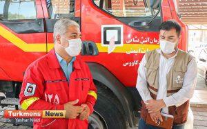 سجاد حسینی آتش نشانی گنبد 300x188 - مسئولین استانی نگاه ویژه به آتش نشانی گنبدکاووس در شرق گلستان داشته باشند