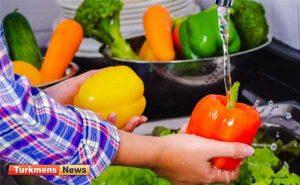 میوه و سبزیجات 300x185 - پیامدهای شستن میوه و سبزیجات با مایع ضدعفونی کننده در دوران کرونا