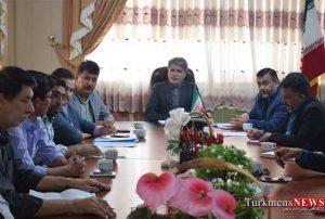 ششمین جلسه کارگروه تنظیم بازار شهرستان ترکمن برگزار شد