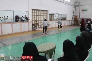 مسابقات بانوان 1 300x199 - اولین دوره مسابقات شمشیربازی آزاد استان گلستان در گنبدکاووس برگزار شد+عکس
