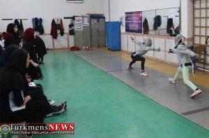 مسابقات بانوان 3 300x199 - اولین دوره مسابقات شمشیربازی آزاد استان گلستان در گنبدکاووس برگزار شد+عکس