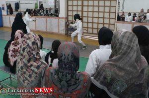 مسابقات بانوان 8 300x199 - اولین دوره مسابقات شمشیربازی آزاد استان گلستان در گنبدکاووس برگزار شد+عکس