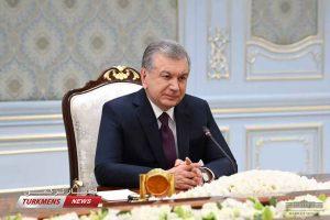 میرضیایف ترکمن نیوز 2 300x200 - O'zbekiston Prezidenti Eron tashqi ishlar vazirini qabul qildi