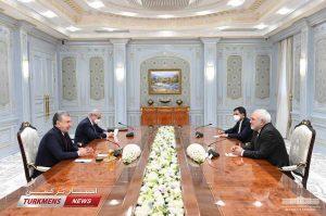 میرضیایف مجمد جواد ظریف 1 300x199 - مراودات دو کشور در زمینههای سیاسی، فرهنگی، اقتصادی و سرمایهگذاری توسعه مداوم دارد