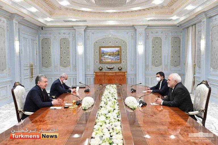 میرضیایف مجمد جواد ظریف 768x511 - دیدار ظریف با رئیس جمهور ازبکستان