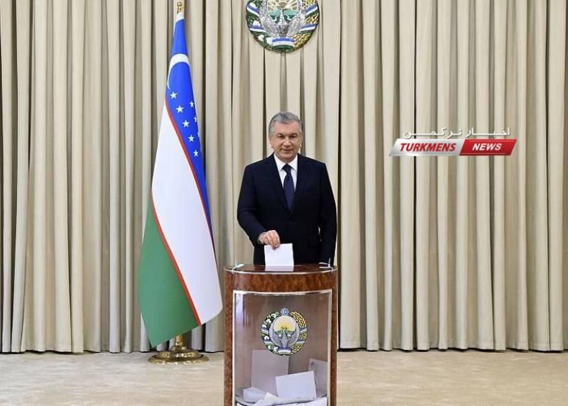میرضیایف 11 - Özbegistandaky Prezident saýlawynda Mirziýoýew üstün çykdy