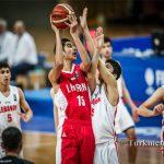 شکست بسکتبالیست های نوجوان ایران برابر لبنان