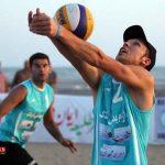 صعود تیم والیبال ساحلی ایران به نیمه نهایی قهرمانی آسیا