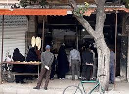 نانوایی - چرا صف نانواییها روز بروز شلوغتر میشود