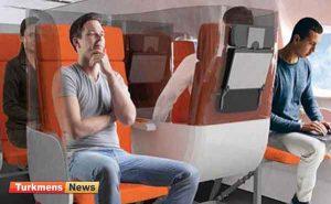 کرونایی 300x185 - صندلی کرونایی هواپیما طراحی شد
