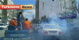 گنبدکاووس 300x152 - ضدعفونی شهر گنبدکاووس با دستگاه مه پاش