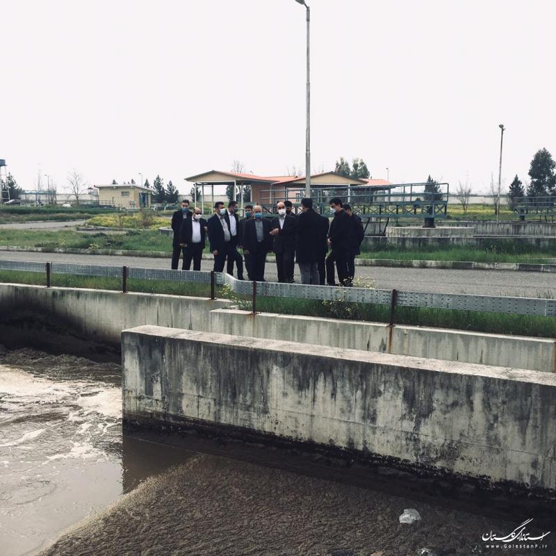 فاضلاب گلستان - اجرای طرح فاضلاب در شهرهای استان ضروری است