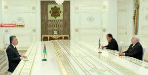 بردی محمداف 300x152 - ظریف براهمیت روابط کشورمان با ترکمنستان تاکید کرد