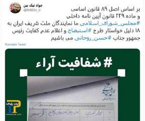 کفایت روحانی مجلس 300x251 - جمع آوری امضاء در مجلس ایران برای عدم کفایت روحانی