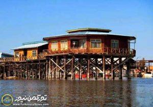 عمرانی طرح آشوراده 300x209 - تبدیل بناهای قدیمی اداره ماهیان خاویاری بندرترکمن به موزه