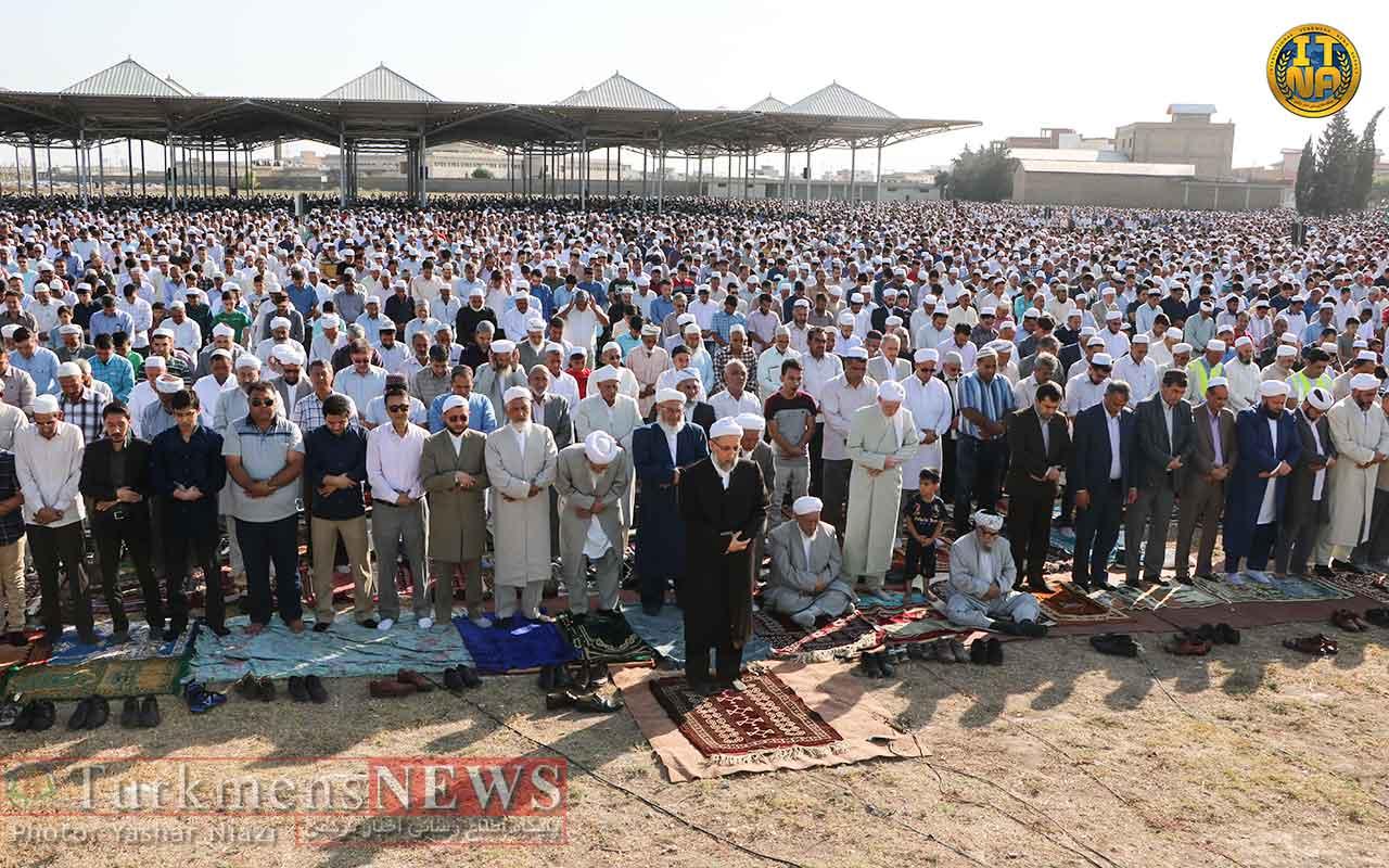 قربان 1397 9 - نماز باشکوه عید سعید قربان در گنبد کاووس برگزار شد+تصاویر