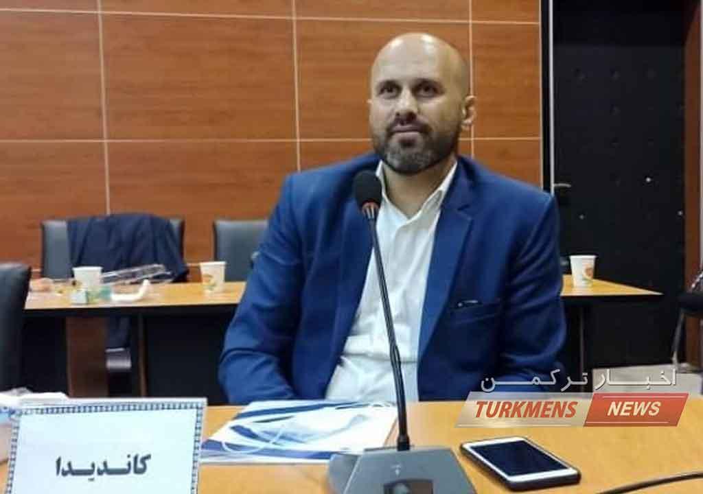 """پیام تبریک باشگاه فرهنگی ورزشی شهرداری گنبد به """"عیسی سنگدوینی"""""""