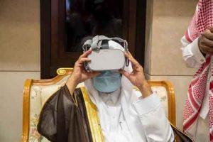 واقعیت مجازی مسجدالنبیص 300x200 - تولید عینکهای واقعیت مجازی مسجدالنبی(ص) در عربستان