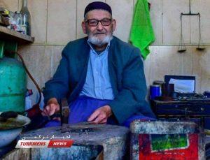 آق 300x229 - هنرمند و دارنده نشان زرین رشته زیورآلات سنتی ترکمن و اهل گنبدکاووس درگذشت