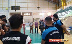 آماده 1024 53 300x185 - بازدید سرزده نماینده مجلس از تمرین تیم والیبال شهرداری گنبد و ره آورد آن