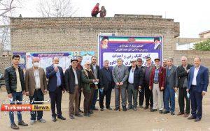 گنبدکاووس ترکمن نیوز 3 300x188 - فرهنگسرای شهرداری گنبدکاووس کلنگ زنی شد+ عکس