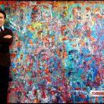 فریدالله ادیب نقاش افغان ترکمن نیوزFaridollah Adib (1)
