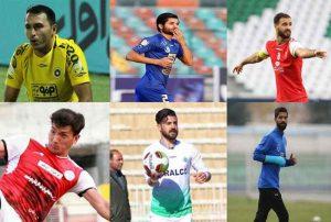 گلستانی 300x202 - درخشش ۶ فوتبالیست گلستانی در لیگ برتر