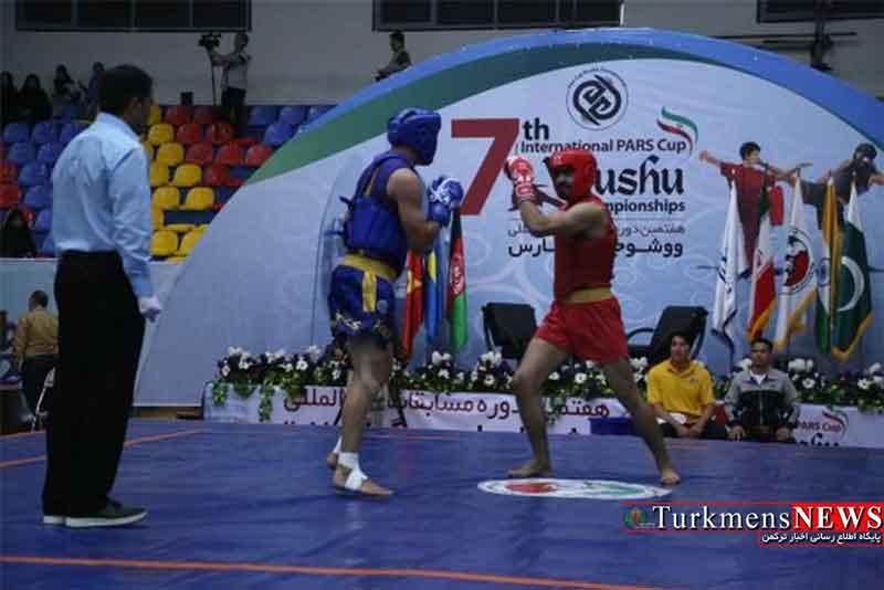فینالیستهای ۴ وزن ساندا در مسابقات بین المللی ووشو جام پارس در گرگان مشخص شدند
