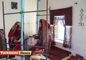های ابریشمی ترکمن 300x211 - 30درصد قالیچه های ابریشمی ترکمنی صادر می شود