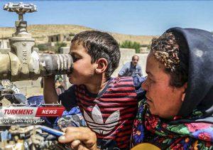 روستاهای بدون آب کلاله در روز عید قربان