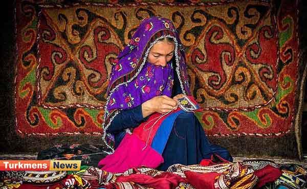 های ترکمنی - نقش و نگارهای رنگارنگی که زینت لباسهای ترکمن میشود