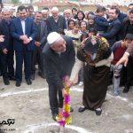 عملیات اجرایی یک مدرسه خیرساز در گنبدکاووس آغاز شد