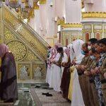 1 150x150 - اقامه نماز تراویح در مسجدالنبی با رعایت ضوابط بهداشتی