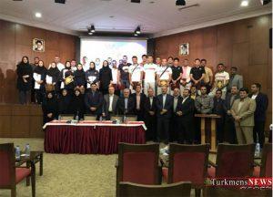مراسم بدرقه ملیپوشان گلستانی بازیهای آسیایی جاکارتا باحضور استاندار برگزار شد