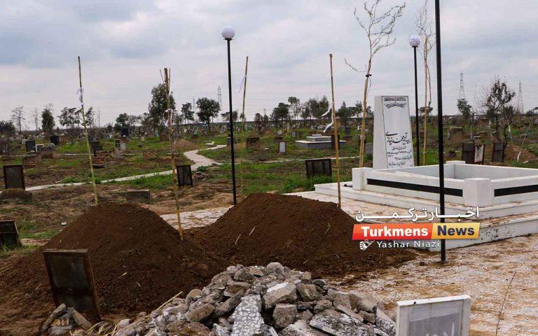 تشییع و خاکسپاری خانواده نیازی 768x480 - نسین نیازی همراه با مادرش در کنار مزار پدر آرام گرفت+فیلم