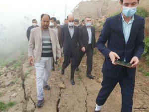 تپه استاندار 300x225 - خانه های تخریب شده رانش زمین روستای آق امام تا شهریور احداث می شود