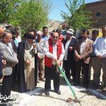 بازسازی واحدهای مسکونی تخریبی سیلاب در مراوه تپه آغاز شد