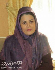 طریک2 238x300 - بانوی هنرمند ترکمن رییس اداره فرهنگ و ارشاد اسلامی آق قلا منصوب شد