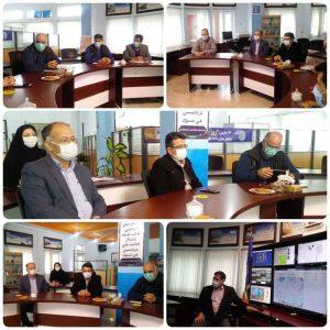 پایش گلستان 300x300 - حضورمدیر کل مدیریت بحران گلستان در مرکز پایش و پیش بینی استان