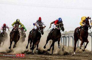 هفته دوم مسابقات اسبدوانی کورس پاییزه آق قلا برگزار شد+عکس