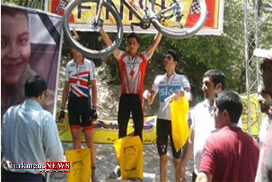 مسابقات دوچرخه سواری کوهستان انتخابی استان در کلاله برگزار شد