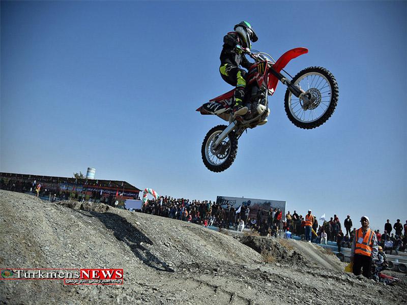 برگزاری مسابقات موتور کراس در گلستان