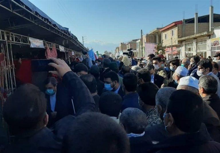 """روحانی گلستان 768x535 - دستاورد """"هیچ"""" سفر معاون """"روحانی"""" به گلستان"""